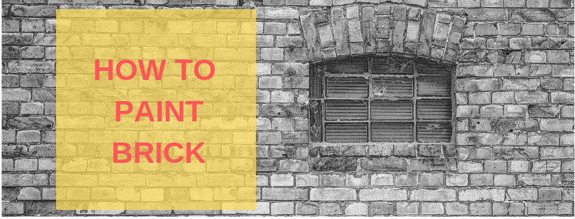 step by step how to paint bricks